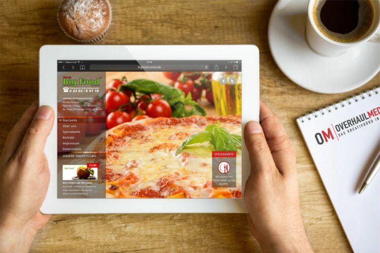Big Food® – Pizzeria am Bahnhof
